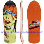 Vision Aggressor 2 Re-Issue w/ Modern Concave Orange / Yellow