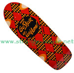 "Vision Go Skate or Go Home Re-Issue 10.25"" Deck ORANGE"