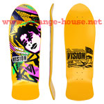 "Vision Gonz Re-Issue w/ Modern Concave for 2014 / 10.0"" Yellow"