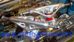Webb 127mm Silver Trucks / Pair