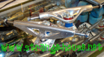 Webb 167mm Silver Trucks / Pair / Smith Pro Model