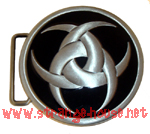 "Biohazard Belt Buckle / 3.125"" Round"