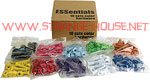 "Essentials 1"" Phillips Hardware Colored (8 nuts & bolts) LT.BLJE"