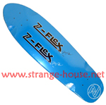 Z-Flex Jimmy Plumer Cruizer Deck Blue