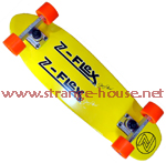 Z-Flex Jimmy Plumer Custom Complete Yellow Deck