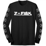 Z-Flex Brand Logo Long Sleeve T-Shirt Black / Medium