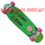 Z-Flex Jimmy Plumer Custom Complete Deck - Green / Pink