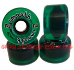 Z-Flex Z-Smooth Translucent Green 63mm / 78a Wheels