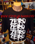 Zero Blood Repeat T-Shirt / Black / XL