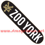 Zoo York Photo Incentive 8.5 Deck - Black